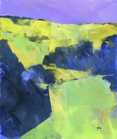 Uphill | Acrylic/11 x 13 inches/2014 | Paul Bailey | Flickr