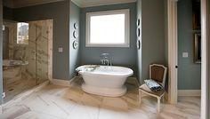 Classic Bathtub – Madison Model, Lake Haven of Crabapple – via Edward Andrews Homes