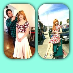 """@Bella Thorne's photo: """"Behind the scenes look at my @TeenVogue May issue! On stands now"""""""