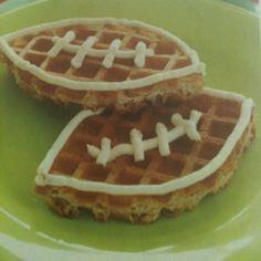 Parents magazine idea for Super Bowl breakfast.