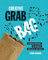Selling at US$10.00 on mydesignshop.com, Creative Grab Bag features a collection of inspiring challenges from artists, illustrators and designers from around the world.