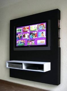 Mueble Panel Lcd / Tv / Led - Modular - Mesa De Tv - $ 1.649,00