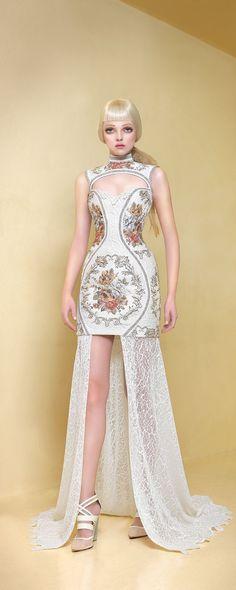 87943873e6a236 Maison Lilly and Billy Spring 2015 - Ready-to-Wear. Suknie Wieczorowe Sukienki ...