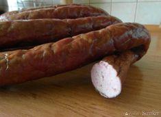Kiełbasa domowa wędzona I Polish Recipes, Polish Food, Home Made Sausage, Smoking Meat, Chorizo, Charcuterie, Pork, Pasta, Bread