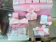 Patchi chocolate for the baby shower