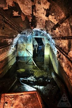 Part of a vast underground bunker built during WWII for Joseph Stalin