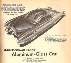 1951 - Kaiser-Frazer concept car