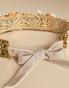 CROWN WITH ORANGES | Dolce&Gabbana Online Store