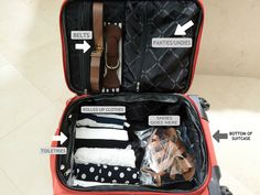 How to pack for vacation by Stylish Petite, via Flickr