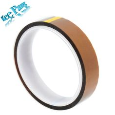 20mm x 33m High Temperature Resistant Tape Heat Dedicated Adhesive 3D Printers Parts Heat-Resistant Part Polyimide Accessories //Price: $3.06//     #shop