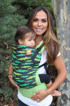 Canvas - Tula Release 'Later Gator' TULA BABY CARRIER