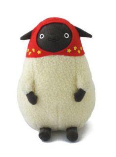 cute sheep figure art