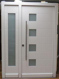 Modern Exterior Door Model 046 - Contemporary - Front Doors - new . Modern Entry Door, Modern Exterior Doors, Contemporary Front Doors, Wood Exterior Door, Exterior Front Doors, Entry Doors, Entrance, Front Door Handles, Glass Door Knobs