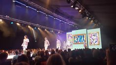 Loving the pastels! #BristolFashionWeek the dancers and models are pretty rad!!