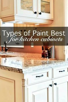 When Painting Your Kitchen Cabinets, You Will Need A High Quality Paint  That Is Durable And Looks Nice. Some Of The Best Quality Paints.