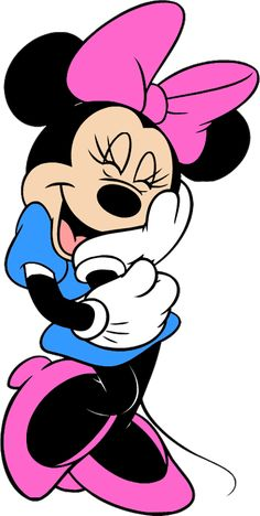 10 Mewarnai Gambar Minnie Mouse Bonikids Coloring Page