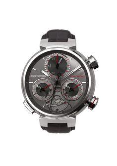 Louis Vuitton Tambour Twin Chrono Grand Sport