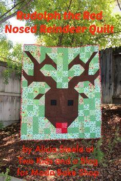 Reindeer Quilt « Moda Bake Shop