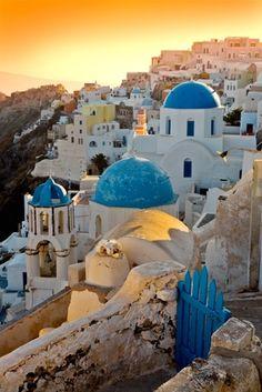The beautiful and amazing Greek island of Santorini