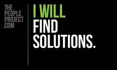 I will find solutions. #INTJ