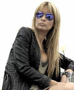 Lgb Top,Roberto Cavalli jacket, ray ban shades , balenciaga bracelet