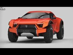 Crazy Cars - The Zarooq Motors SandRacer - Arabian (UAE) SUV - Coupé - Offroader - YouTube