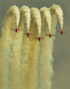 Red Arrows, East Fortune Air Show, Scotland