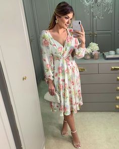Wrap Dress, Dress Up, Church Outfits, Fashion Outfits, Womens Fashion, Mother Of The Bride, Ideias Fashion, Pregnancy, Hair