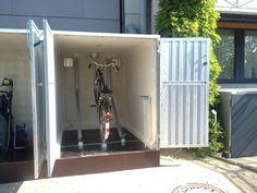 Geräteschrank GS7 als Fahrrad-Garage