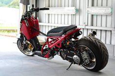 Scooter Custom, Honda Ruckus, Bikers, Scooters, Motorcycles, Cart, Vehicles, Style, Custom Bikes