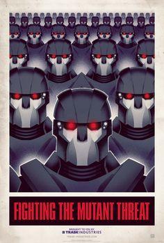 Trask Industries Anti-Mutant Propoganda