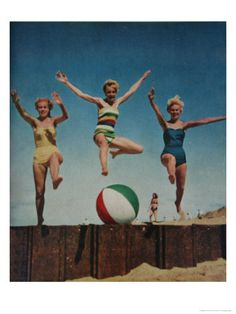 Jumping Lady's....friends