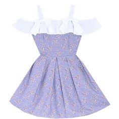 Sweet Sonnet Lolita Dress Bonne Chance Collections (62 AUD) ❤ liked on Polyvore featuring dresses, bonne chance, floral print chiffon dress, off shoulder dress, flower print dress, sleeved dresses and ruffle neck dress