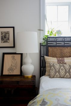 If clothes make the man, do textiles make the manse? Krista Nye Schwartz of the interior design firm and blogCloth & Kindthinks so. For Kri