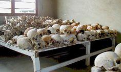 Rwandan Genocide Murambi skulls - Rwandan genocide - Wikipedia