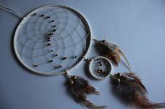Traumfänger mit braun-goldschimmernden Tigerauge von TRAUMnetz.com     ** DReamcatcher u.v.m.  ** auf DaWanda.com