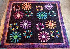 Prairie Pinwheels, Quiltworx.com, Made by Debbie Ritter
