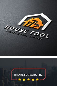 House Tool Logo: multifunctional logo that can be used in technological companies, in companies and applications for software development, construction Construction Company Logo, Construction Tools, Construction Business, Graphic Design Trends, Logo Design Inspiration, Business Logo, Business Card Design, Handyman Logo, Maintenance Logo