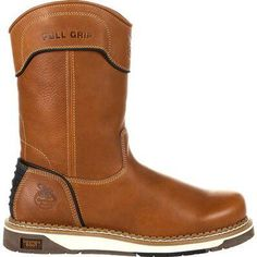 Cowboy Boots Women, Cowgirl Boots, Western Boots, Riding Boots, Wedge Work Boots, Pull On Work Boots, Timberland Style, Timberland Boots, Timberland Fashion
