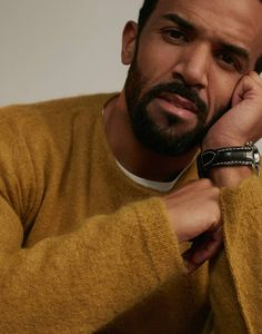 Craig David in ES Magazine wrapped up in a Marni jumper and our Jack white crew neck tee. These T-shirts are the perfect comfortable under layer for any outfit.