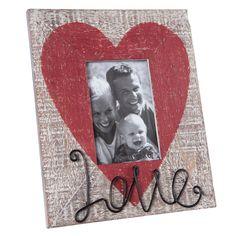 Love Picture Frame, 4X6 Decorative Frame   Plum & Post