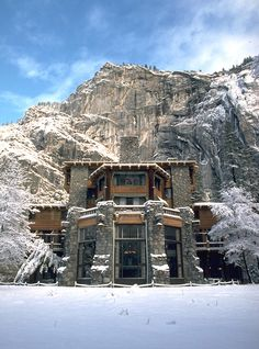 Ahwahnee lodge / Yosemite - Where me and Amie had our Wedding meal.