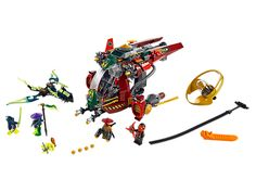 Soar into aerial battle with Ronin's 2-in-1 R.E.X.!