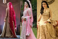 Latest Wedding Wear Pakistani Designer Bridal Dresses Collection 2015-2016