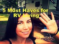 After seven months of RV living, we have compiled a list of must haves. These items have made our lives on the road so much better. We wished we would have known about these when we bought our RV and hope that this post will help you as you plan your RV life. Number 1...