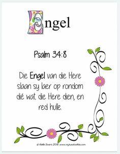 Afrikaans Quotes, Psalm 34, Bible Verses, Prayers, Words, Decor, Decoration, Decorating, Dekoration