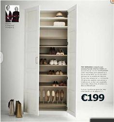 Scarpiera ikea pax (?) Ikea nel 2019 Wardrobe room