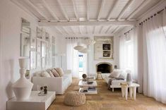 neutral, stylish, cozy.  another one for you @Iro - Ivy Nassopoulos ;)  It's from a villa in Greece!