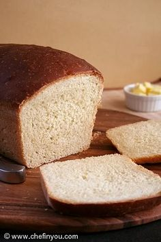 Best White Sandwich Bread Recipe | American Bread Recipes | Chef In You
