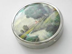 Vintage Powder Compact 30s by GrandVintageFinery on Etsy, $32.00